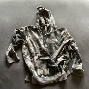 The North Face Grey Camo Hoodie